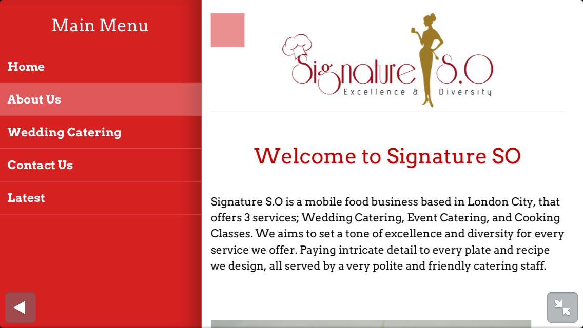 Signature S.O on mobile