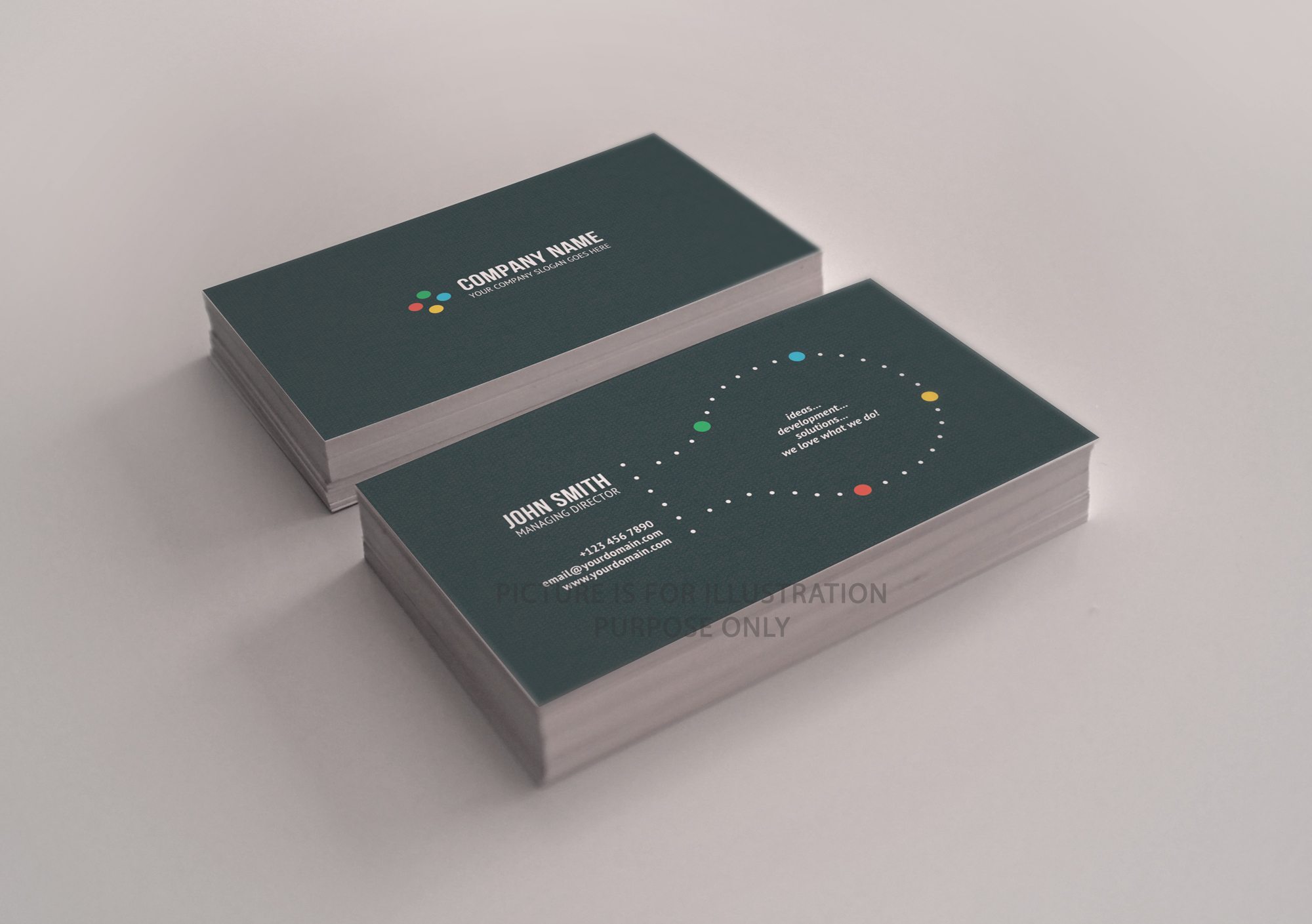 Premium 400gsm silk business cards aloit consulting premium 400gsm silk business cards colourmoves Image collections